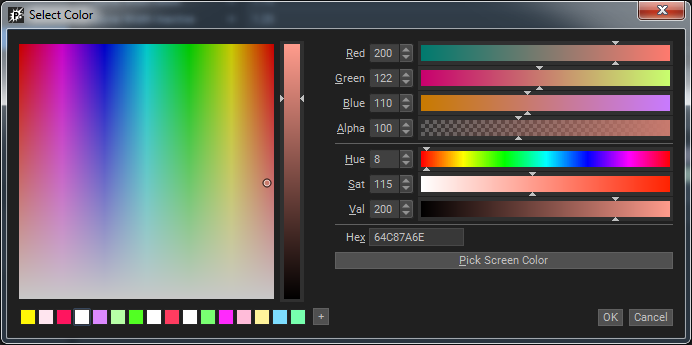 PopcornFX v2 - Release note - Color Picker New