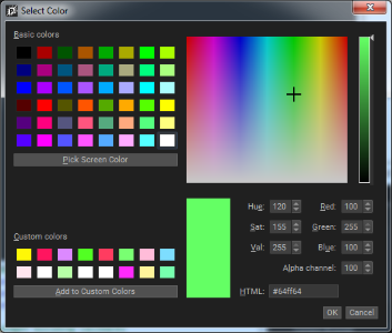 PopcornFX v2 - Release note - Color Picker Old