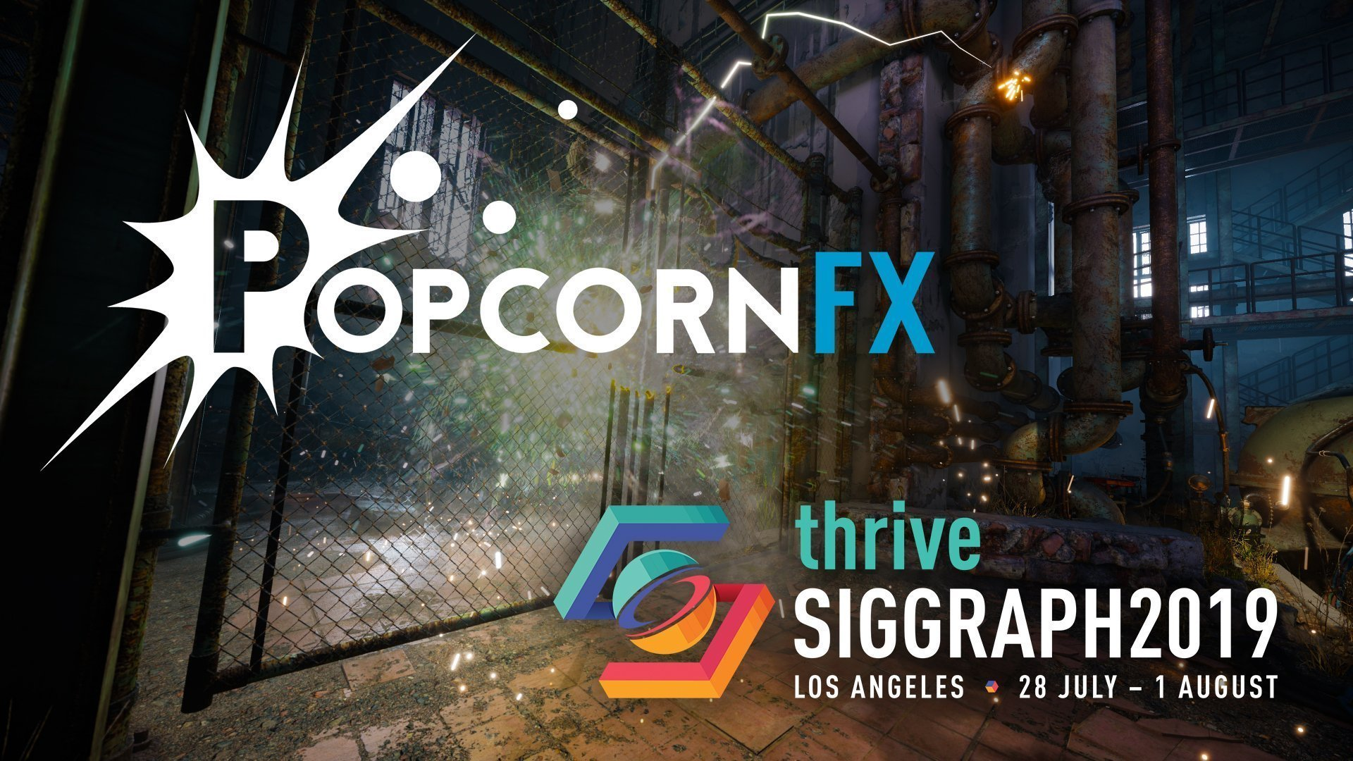 PopcornFX trailer SIGGRAPH 2019