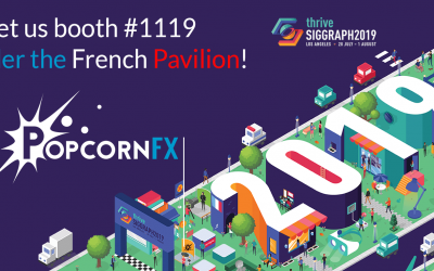 PopcornFX at SIGGRAPH 2019