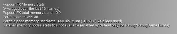 UE4 Plugin Memory HUD
