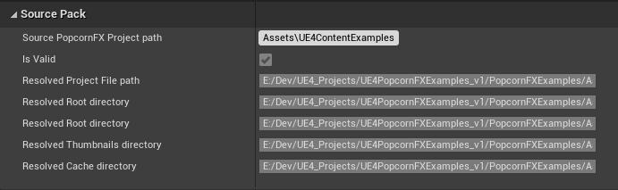 UE4 Plugin editor settings - Pack